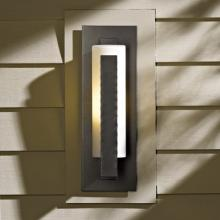 Hubbardton Forge 307285-SKT-20-GG0066 - Forged Vertical Bars Small Outdoor Sconce