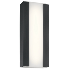 Kichler 49799BKTLED - Outdoor Wall LED